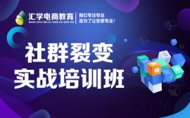 深圳新媒体社群裂变培训班