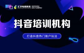 佛山市禅城区张槎抖音培训机构