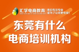 东莞有什么电商培训机构