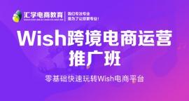 wish跨境电商运营推广培训班